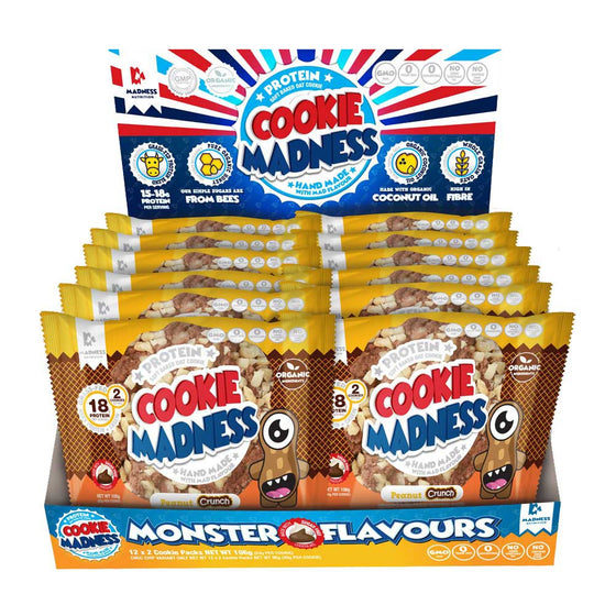 Madness Nutrition Cookie Madness - Box of 12 (24 cookies)