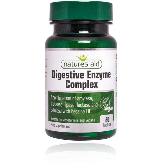 Digestive Enzyme Complex (with Betaine HCl)- 60 Tablets