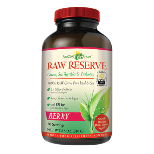 Amazing Grass Raw Reserve Berry Flavour - 240g (30 Servings)