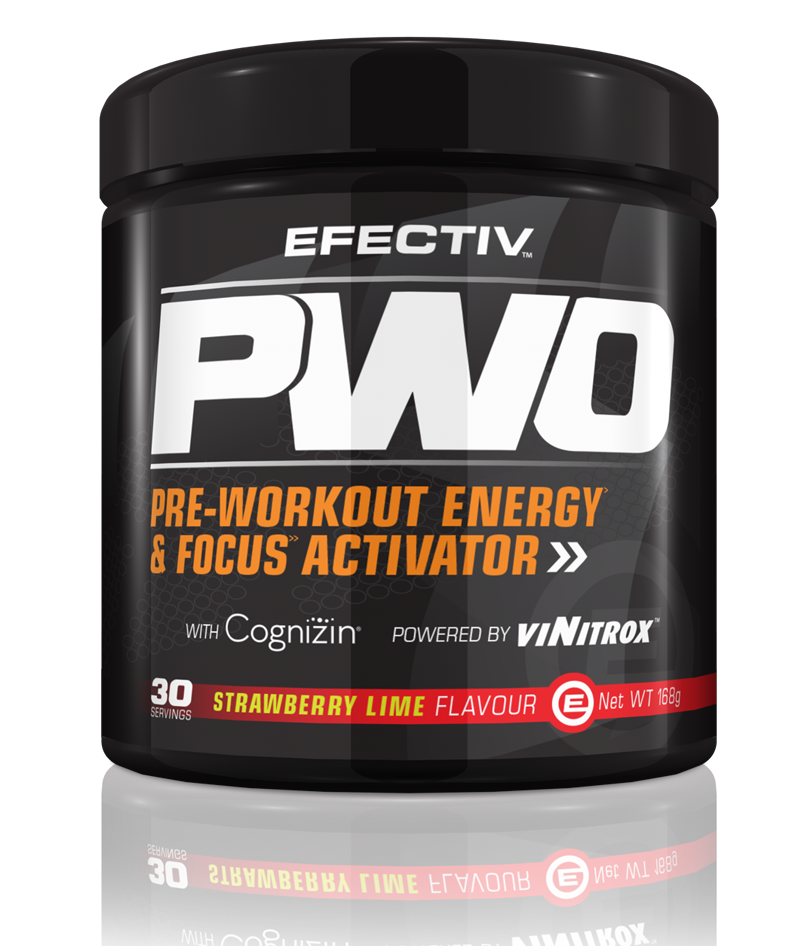 EFECTIV PWO Pre Workout Energy & Focus Activator 30 servings