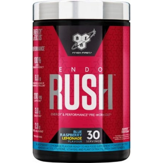 BSN Endo Rush Pre-Workout - 495g (30 Servings)
