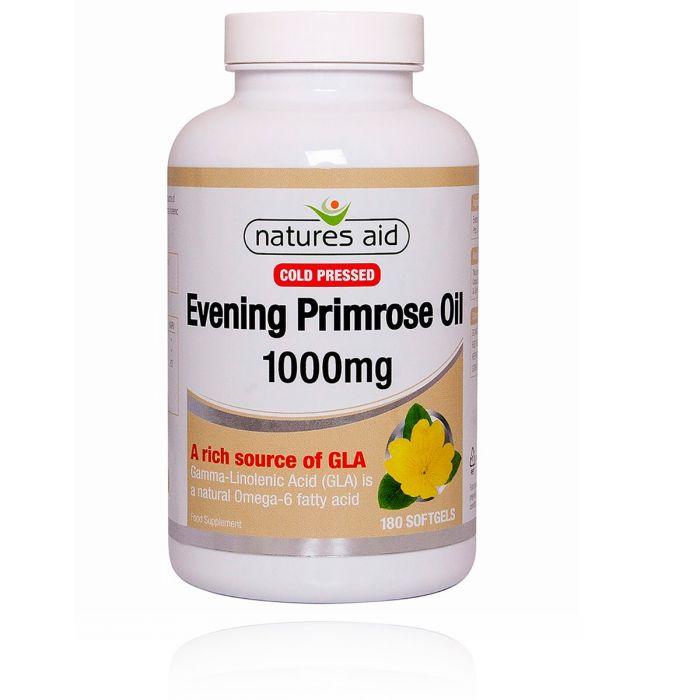 Evening Primrose Oil 1000mg (Cold Pressed)