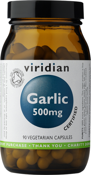 Viridian Organic Garlic 500mg