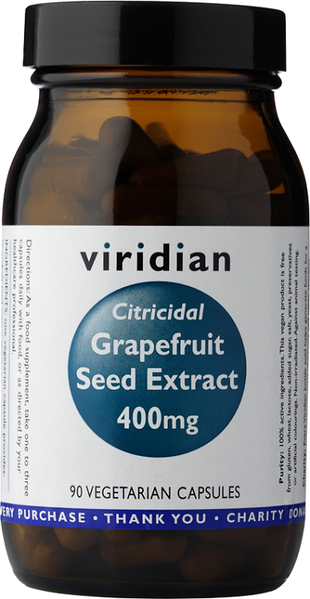 Viridian Grapefruit Seed Extract (Citricidal) 400mg
