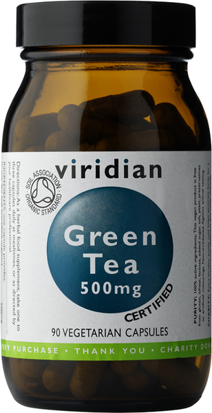 Viridian Organic Green Tea 500mg