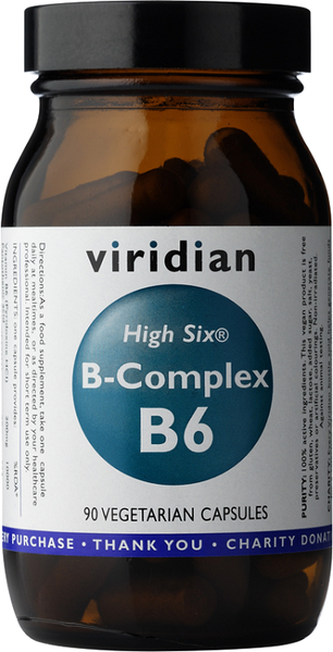 Viridian High Six B-Complex