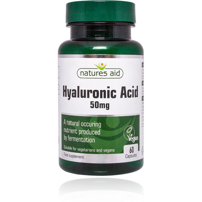 Hyaluronic Acid 50mg - 60 Capsules
