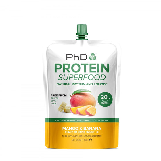 PhD Protein Superfood Smoothie - Mango & Banana