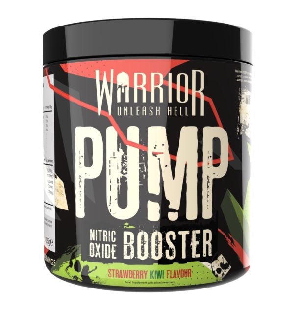 Warrior Pump Pre Workout Extreme Nitric Oxide 30 Servings