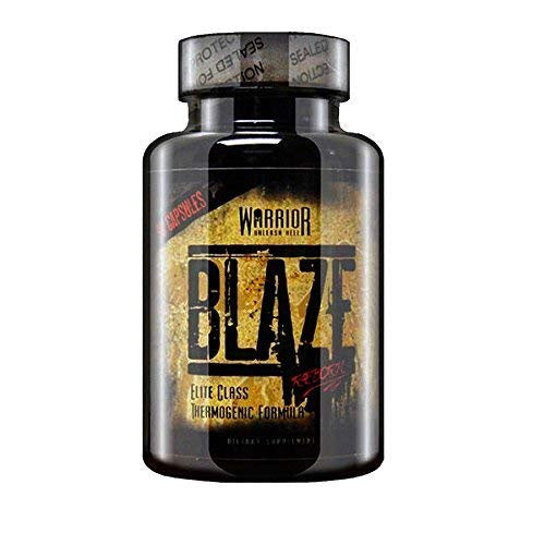 Warrior Blaze Thermogenic Formula 90 Capsules