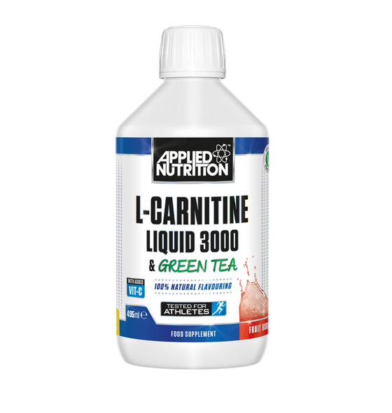 Applied Nutrition L-Carnitin Liquid 3000 & Green Tea - 495ml