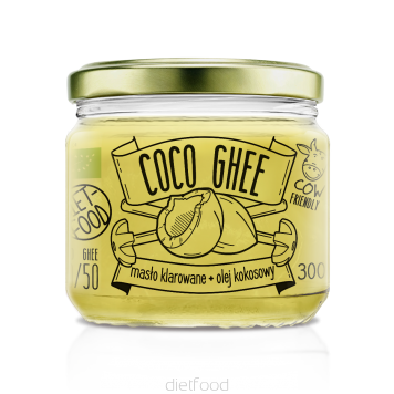 Coco Ghee - clarified butter + Organic coconut oil 300g