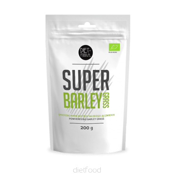 Diet Food Bio Super Barley Grass 200g