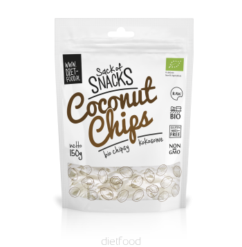 Diet Food Organic Coconut Chips 150g