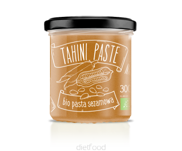 Diet Food Tahini - Bio Sesame Paste - 300g