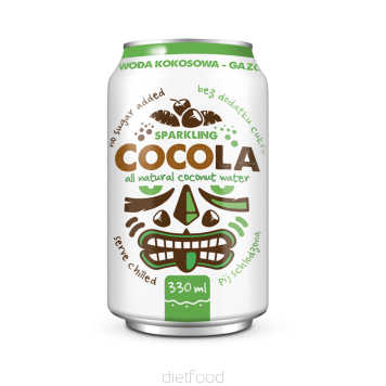CocoLa - all natural sparkling coconut water - Case of 24