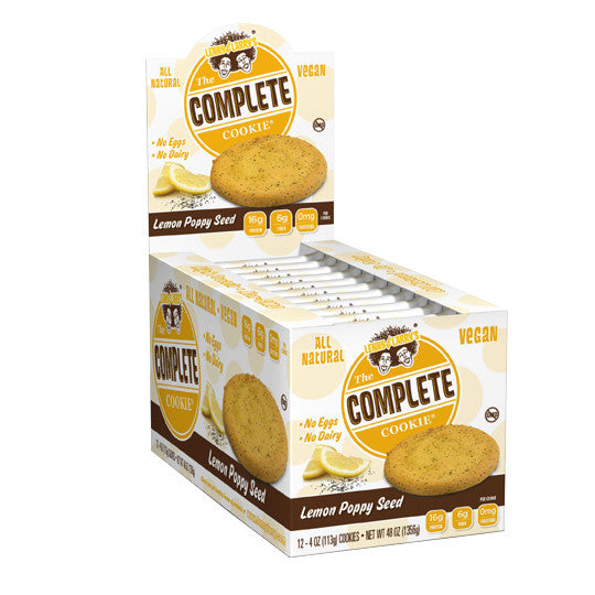 Lenny & Larry's Complete Cookie Lemon Poppy x12