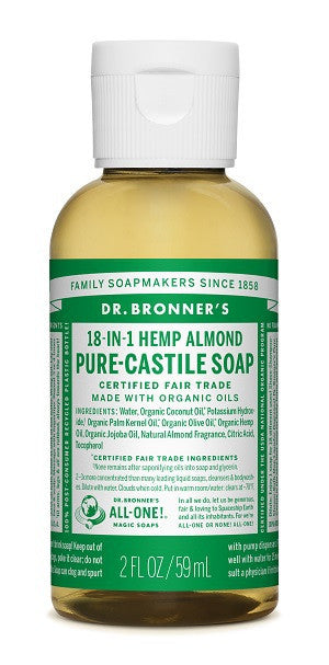 Almond Organic Castile Liquid Soap