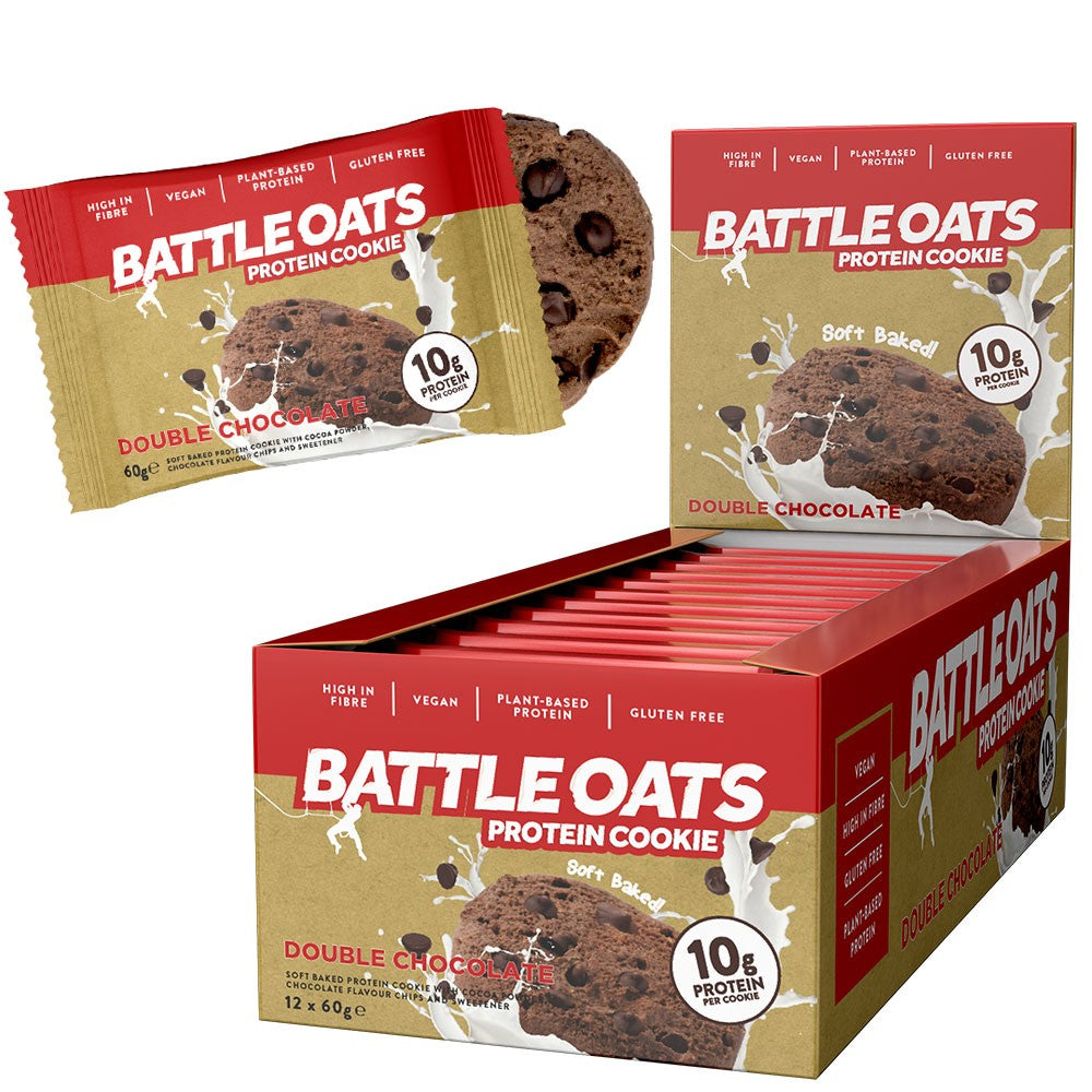 Battle Oats Protein Cookie Box of 12