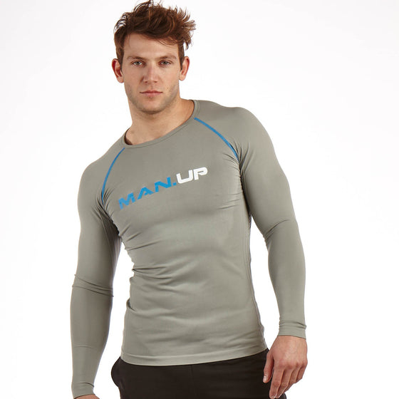 Man Up Compression Top Carbon