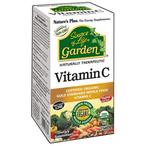 Nature's Plus - Source of Life Garden - Vitamin C 500mg 60 capsules