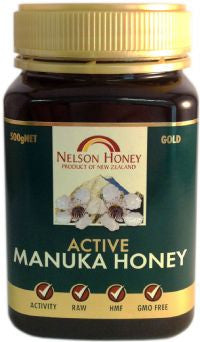 Nelson Honey Active Manuka Honey GOLD 500g
