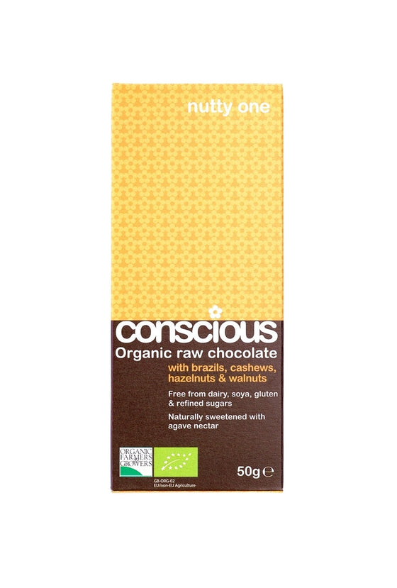 Conscious Raw Chocolate - 50g bar