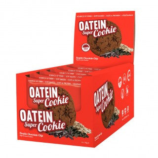 Oatein Super cookie Box of 12 Double Chocolate Chip