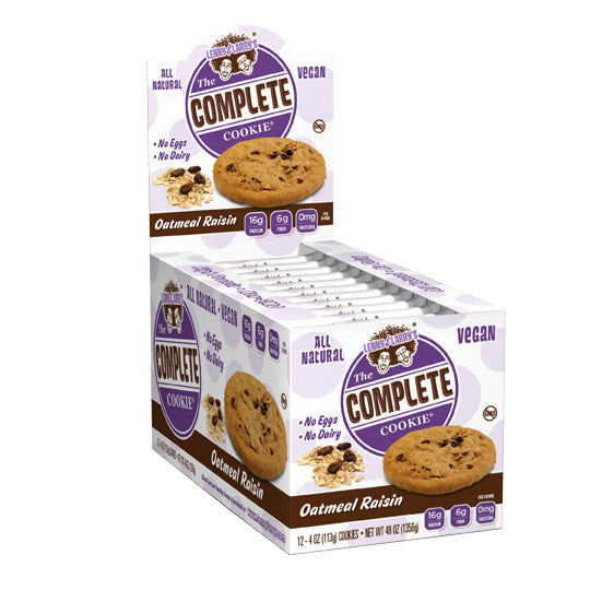 Lenny & Larry's Complete Cookie Oatmeal Raisin x12