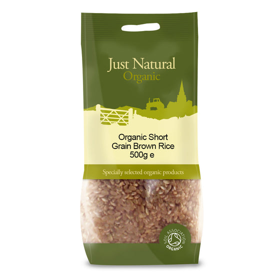 Just Natural Organic Short Grain Brown Rice