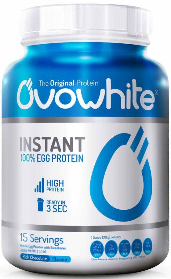 Ovowhite Instant 100% Egg Protein - 2.5 Kg