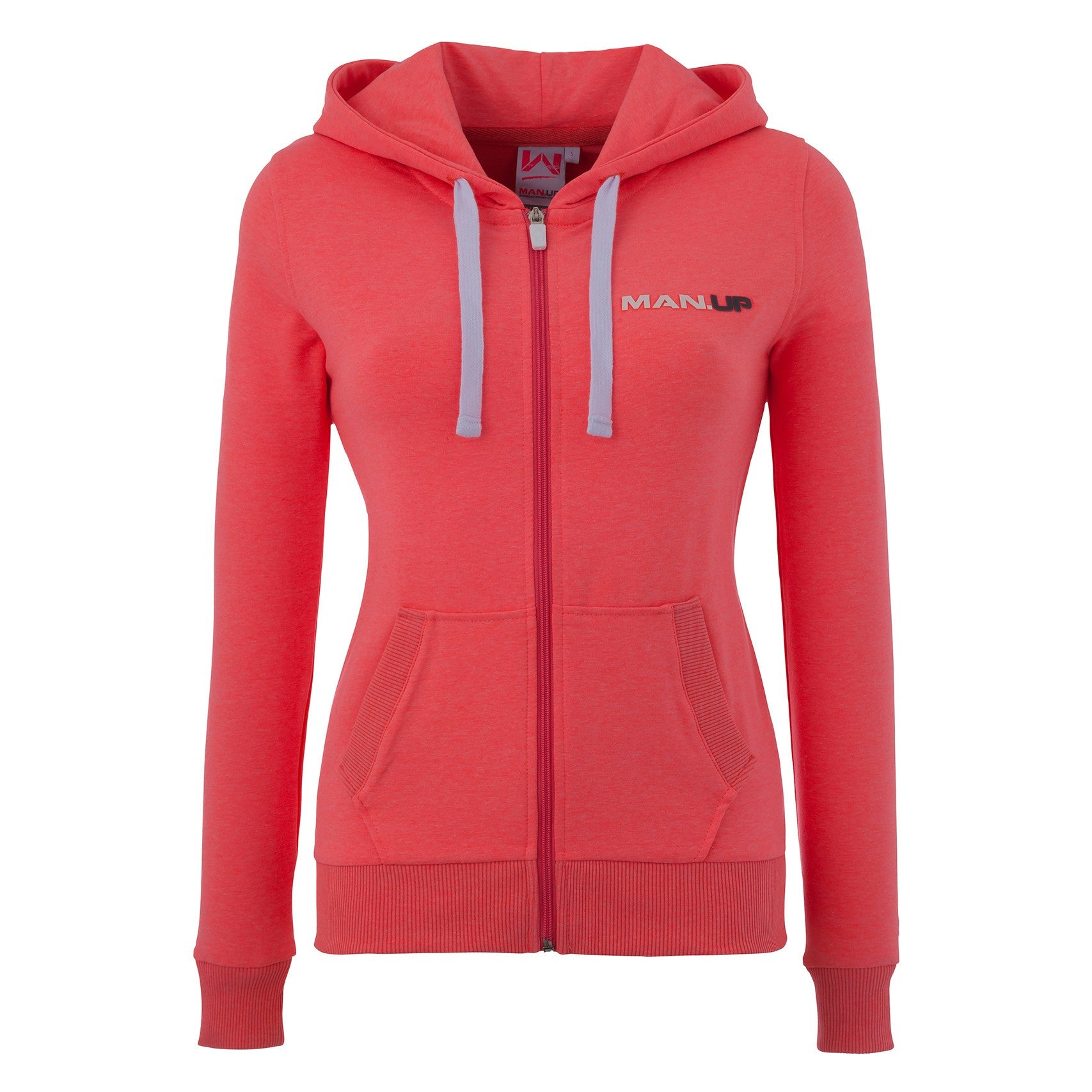 e5c000396f6 Man Up Womens Gym Hoodie Pink - Shop4Supplements