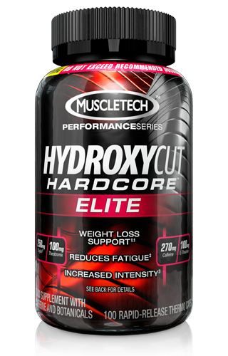 MuscleTech Hydroxycut Hardcore Elite 100 Caps