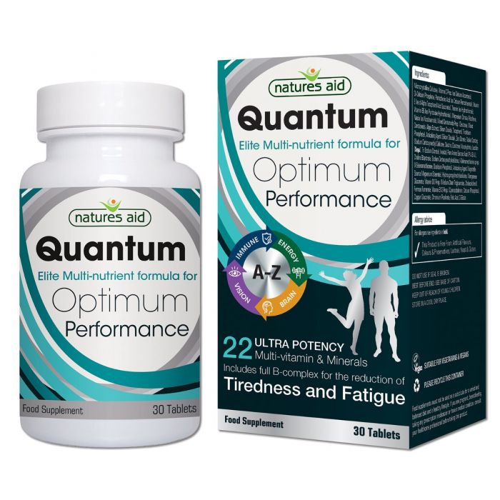Natures Aid Quantum Ultra Potency Multi-Vitamins & Mineral