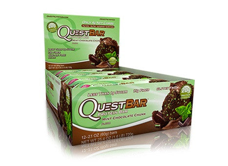 Quest Bar Mint Chocolate Chunk Box of 12
