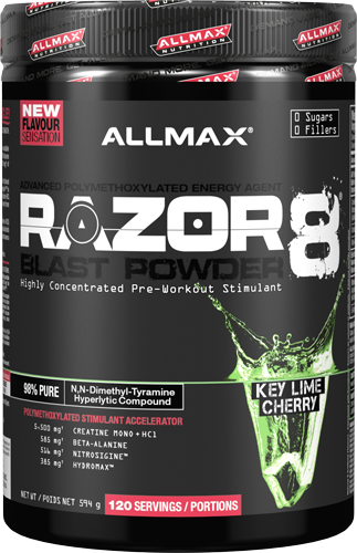 Allmax Razor8 Pre-workout 285g (66 Servings)