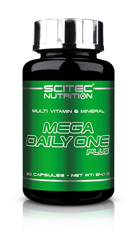 Scitec Nutrition Mega Daily One Plus - 60 Capsules