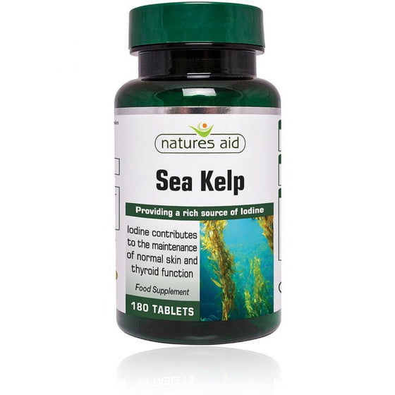 Sea Kelp 187mg - 180 Tablets