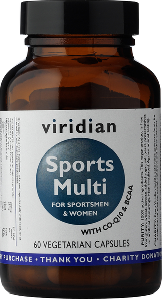 Viridian Sports Multi - 60 vegetarian capsules