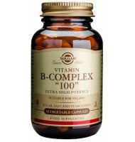 "Solgar Vitamin B-Complex ""100"" - 100 Vegetable Capsules"