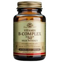 "Solgar Vitamin B-Complex ""50"" Vegetable Capsules"