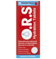 O.R.S Hydration Tablets (12 Tablets)
