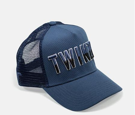 Twinzz Liquid Blue Trucker Cap