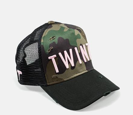 Twinzz Camouflage Full Trucker Rip and Repair Cap