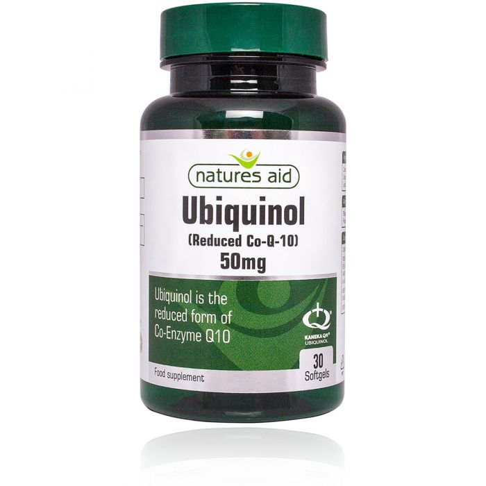 Ubiquinol 50mg- 30 Softgels