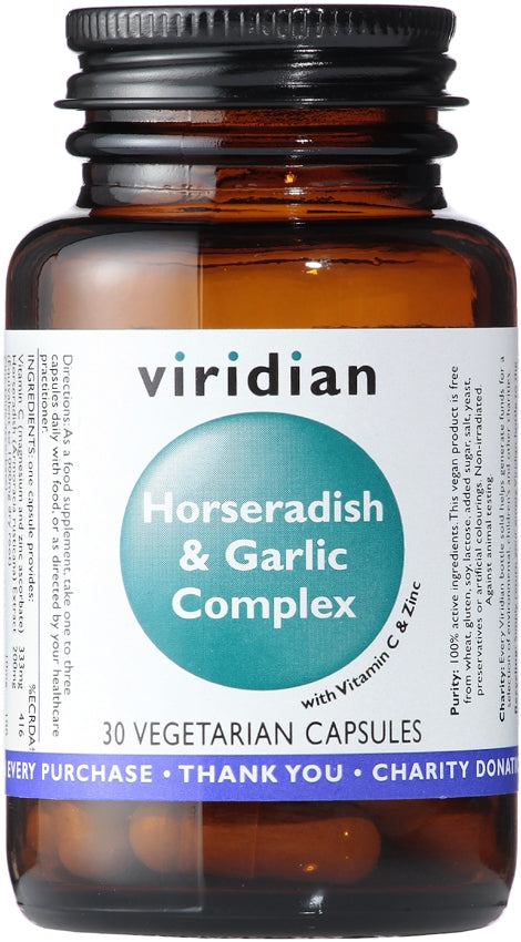Viridian Horseradish and Garlic Complex