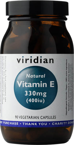 Viridian Natural Vitamin E 400iu