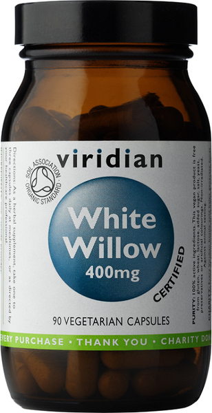 Viridian Organic White Willow Bark 400mg