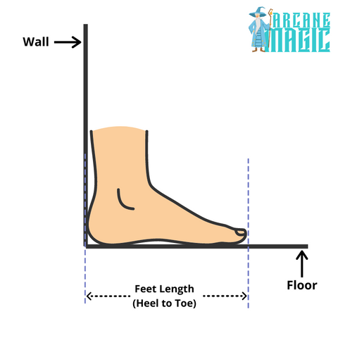 How to Measure Your Feet Length