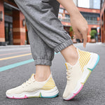Rainbow Joy Sneaker Look on Your Feet